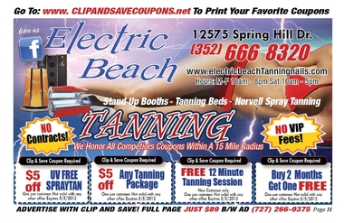 Electric Beach Nail & Tanning - Spring Hill, FL