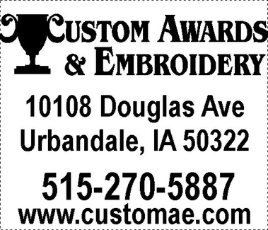 Custom Awards & Embroidery - Urbandale, IA