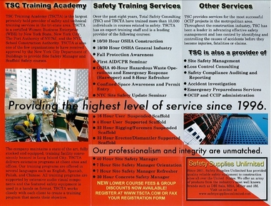 Tsc Training Academy - Long Island City, NY