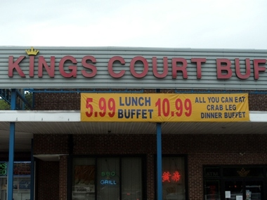 Kings Court Buffet - Wyncote, PA