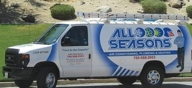 All Seasons Air Conditioning Plumbing & Heating INC - Cathedral City, CA