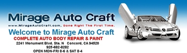 Mirage Auto Craft - Concord, CA