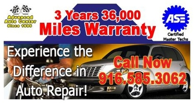 Advanced Auto Center - Auto Repair West Sacramento - West Sacramento, CA
