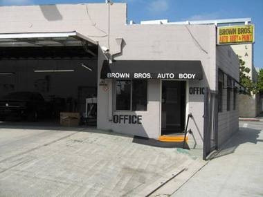Brown Bros. Auto Body & Paint Shop - Los Angeles, CA
