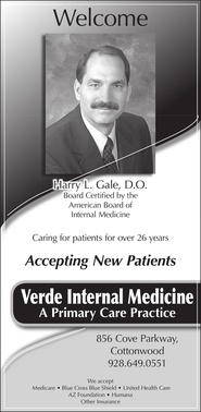 Harry Gale, Do - Verde Internal Medicine - Cottonwood, AZ