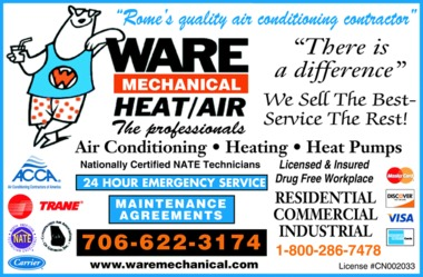 Ware Mechanical Inc - Rome, GA