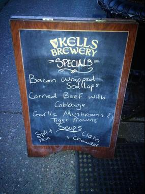 Kells Irish Restaurant And Pub Dec29 - Seattle, WA