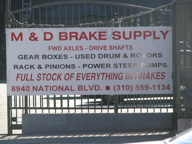 M&D Brake Supply - Los Angeles, CA