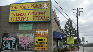 The Main Place Christian Thrift Store - Tustin, CA