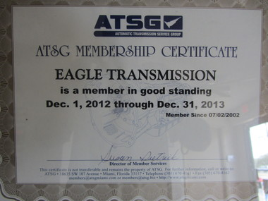 Eagle Transmission of Cedar Park - Cedar Park, TX