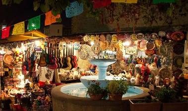 Olvera Street Plaza - Los Angeles, CA