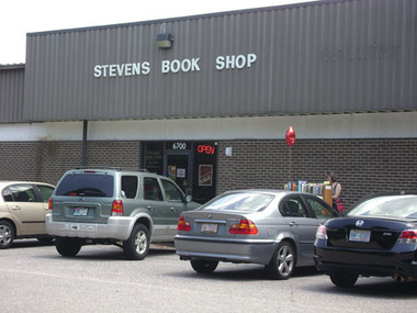 Stevens Book Shop - Raleigh, NC