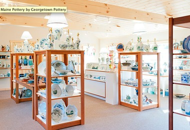 Georgetown Pottery - Woolwich, ME