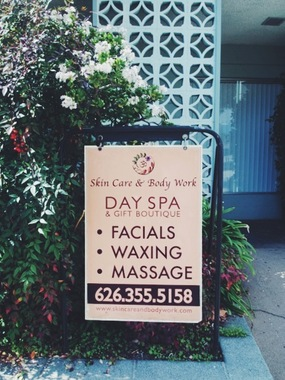 Skin Care & Body Work Day Spa and Gift Boutique - Sierra Madre, CA