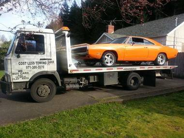 Cost Less Towing LLC.-Flat Rate starting at $45 - Happy Valley, OR