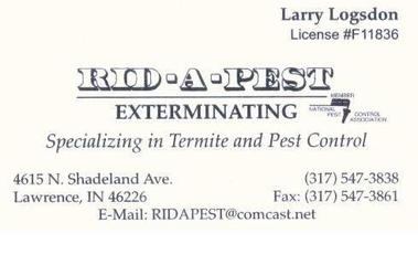 Rid-A-Pest - Indianapolis, IN