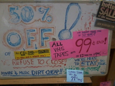 Bargain CDS Records & Tapes - Everett, WA