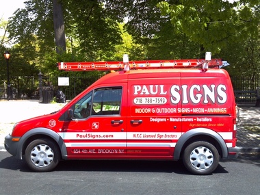 Paul Signs - Brooklyn, NY