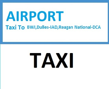 Airport Taxi Services - Annapolis, MD