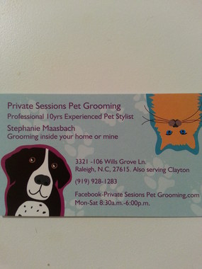 Bark Avenue Dog Grooming Llc - Clayton, NC