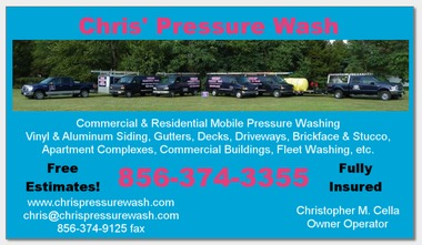 Chris' Pressure Wash - Blackwood, NJ