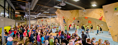 Rocks & Ropes and The Bloc climbing + fitness