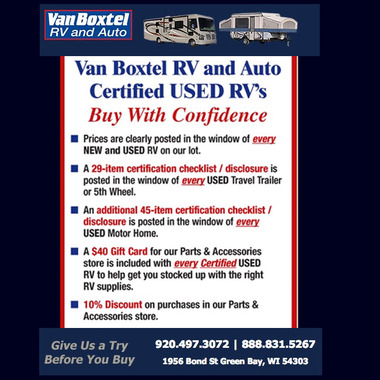Van Boxtel RV and Auto - Green Bay, WI