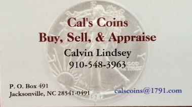 Cal's Coins - Jacksonville, NC