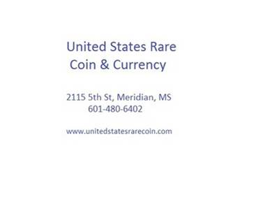 United States Rare Coin - Meridian, MS